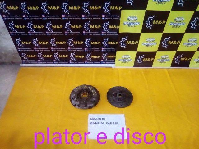 Plator e disco amarok original- lm
