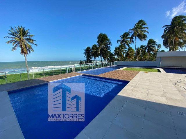 Edifício Green Village: beira mar de Guaxuma, 4 suítes, 222 m², varanda gourmet - Foto 3