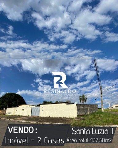 Vendo Area de esquina no bairro Santa Luzia ll com 2 casas. Luziania/GO