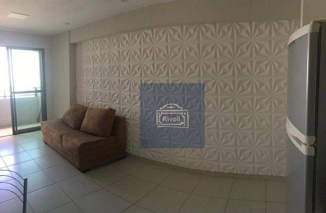 Apartamento com 1 dormitório para alugar, 35 m² por R$ 1.900/mês - Boa Viagem - Recife/PE - Foto 5