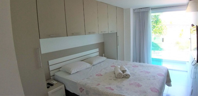 (AP0921) Apartamento beira mar, com 34m², 1 suíte, varanda vista mar - Tambaú - Foto 7
