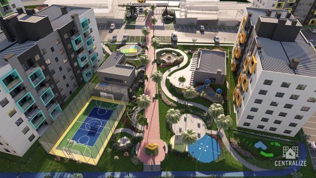 Apartamento à venda com 3 dormitórios em Contorno, Ponta grossa cod:1589 - Foto 7