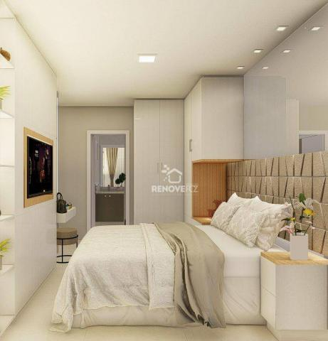 Apartamento com 2 dormitórios à venda, 64 m² - Centro - Foz do Iguaçu/PR - Foto 17