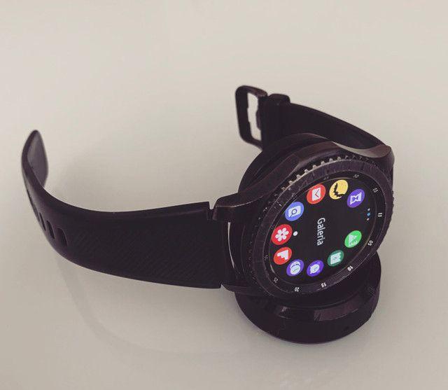 Relógio Samsung - smartwatch gear s3 frontier