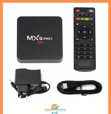 Tv Box Android 4k 64gb - 4gb Ram - Wifi 5g Hdmi Pro