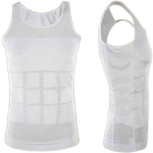 Camiseta Regata masculina diminuir barriga térmica perder peso  - Foto 3