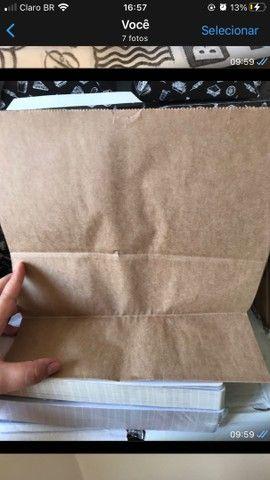 Vendo embalagem para delivery + saco kraft