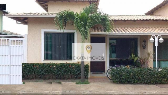 Casa linear/condomínio, mobília, Jardim/Chácara Mariléa, Rio das Ostras.