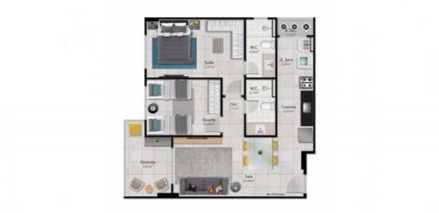 Apartamento para venda em vitória, santa helena, 2 dormitórios, 1 suíte, 2 banheiros, 2 va - Foto 14