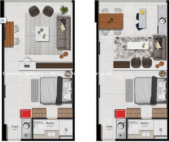 Apartamento para venda em vitória, barro vermelho, 2 dormitórios, 1 suíte, 2 banheiros, 1  - Foto 18