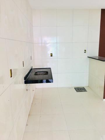 Documentação Inclusa: 2 quartos, 2 wcs, garagem, sala, coz americana, quintal, área serviç - Foto 9