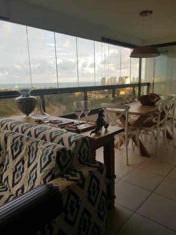 Apartamento Grenville Lumno 4 Suítes 225m2 Alto Decorado Nascente linda vista mar - Foto 9