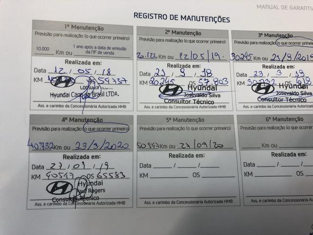 Hyundai Creta 2.0 16V Flex Automático 2018 - Unico Dono - Para Vender Rapido - Foto 7