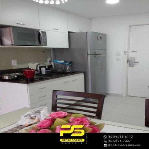 Apartamento com 2 dormitórios para alugar, 60 m² por R$ 3.500,00/mês - Tambaú - João Pesso - Foto 5