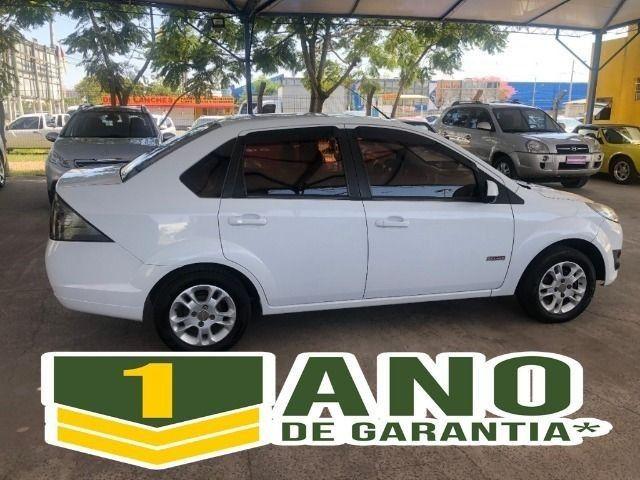 Fiesta Sedam 1.6 Completo + GNV V geração ótimo estado geral entrada R$ 3990,00 + 48 X - Foto 5