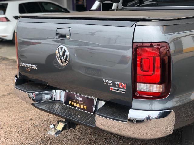 Vw Amarok Highline V6 Diesel 2018/2018 apenas 12.000km - Foto 7