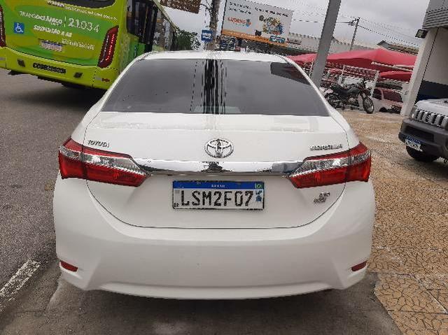 Corolla XEI 2.0AT GNV 5° -  63.000km - Bancos em Couro e Multimídia  - Foto 4