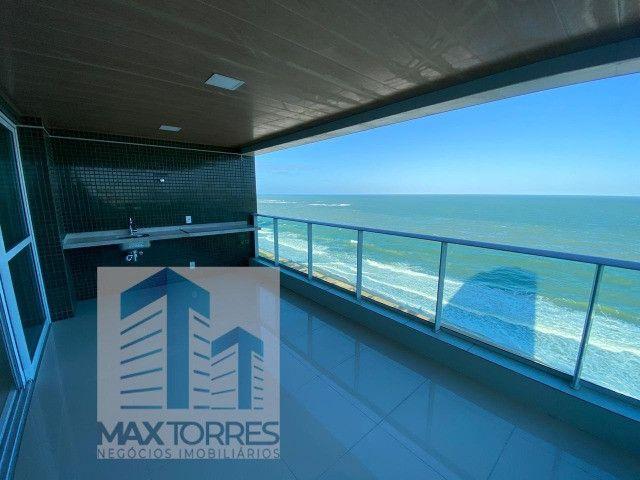 Edifício Green Village: beira mar de Guaxuma, 4 suítes, 222 m², varanda gourmet - Foto 11