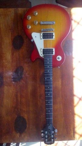 Guitarra Epiphone Lês Paul LP 100 Heritage Cherryburst Hs - Foto 6