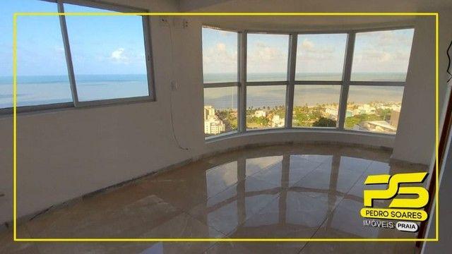 Apartamento com 4 dormitórios para alugar, 223 m² por R$ 6.400/mês - Altiplano - João Pess - Foto 3