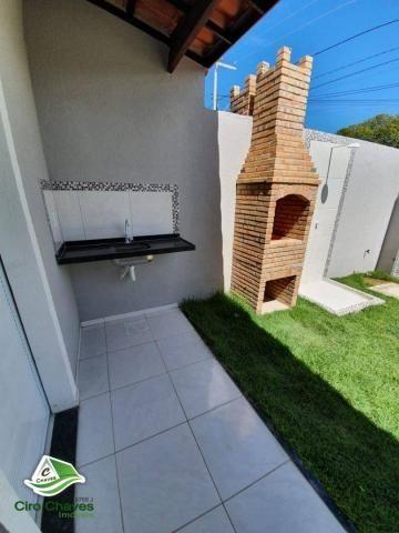 Casa com 2 dormitórios à venda, 81 m² por R$ 140.000,00 - Jabuti - Itaitinga/CE - Foto 16
