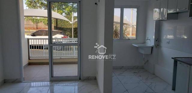 Apartamento com 2 dormitórios à venda, 63 m² por R$ 305.000,00 - Parque Ouro Verde - Foz d - Foto 8