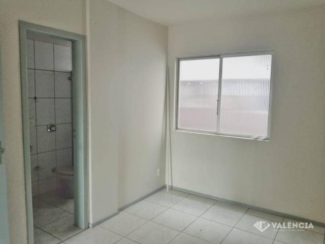 Apartamento com 1 Suíte + 2 Quartos para alugar no edifício Girassol por R$1100,00 - Rua P - Foto 6