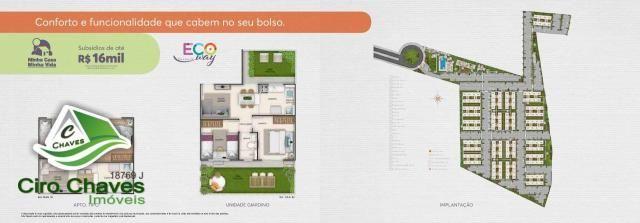 Apartamento à venda, 40 m² por R$ 150.900,00 - Centro - Eusébio/CE - Foto 15