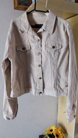 Jaqueta jeans feminina adulta  - Foto 4