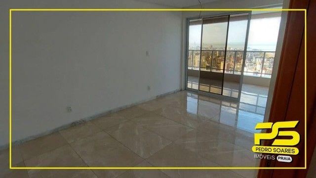 Apartamento com 4 dormitórios para alugar, 223 m² por R$ 6.700/mês - Altiplano - João Pess - Foto 4