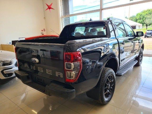 Ranger Black 2022 - melhor custo benefício a diesel.   - Foto 5