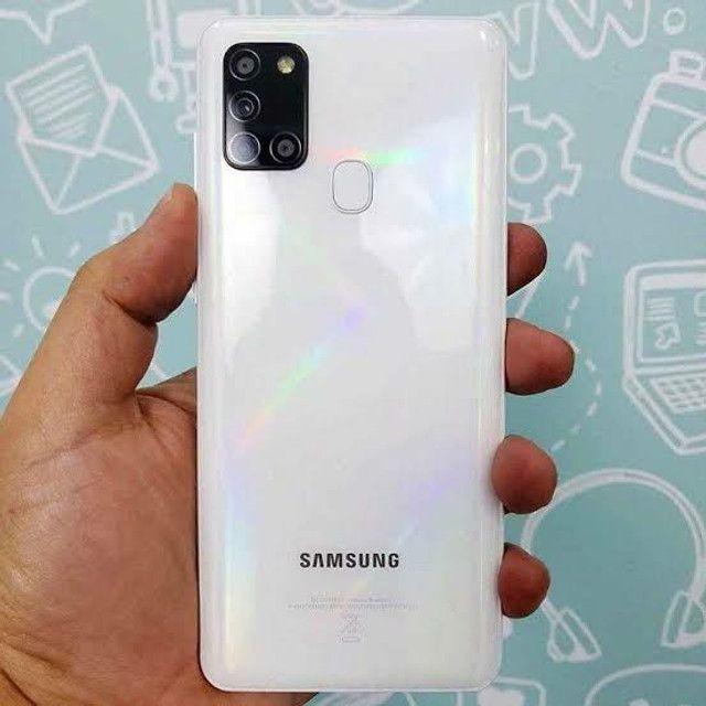 Vendo um Samsung A21s novíssimo com nota fiscal $1000mil reais ACEITO OFERTA   - Foto 2
