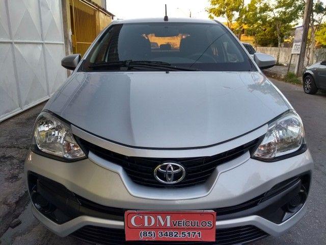 Toyota Etios Hatch 1.3X 2018 Completo Único Dono Novíssimo - Foto 2