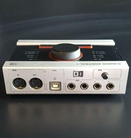 Interface de gravação Native Audio Kontrol 1 - Foto 2