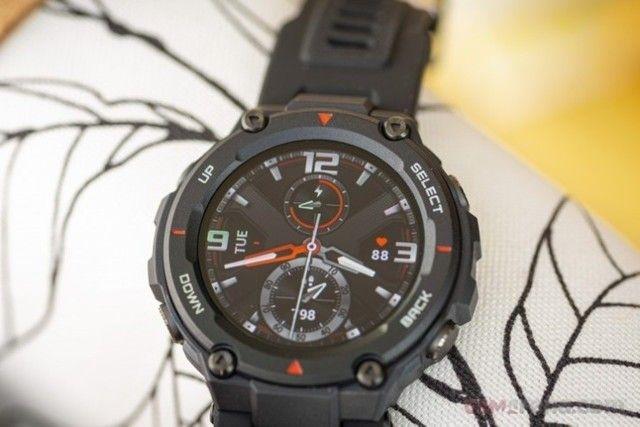 Smartwatch Amazfit T-Rex Lacrado  - Foto 2