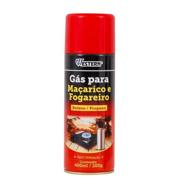 Gás para Maçarico e Fogareiro