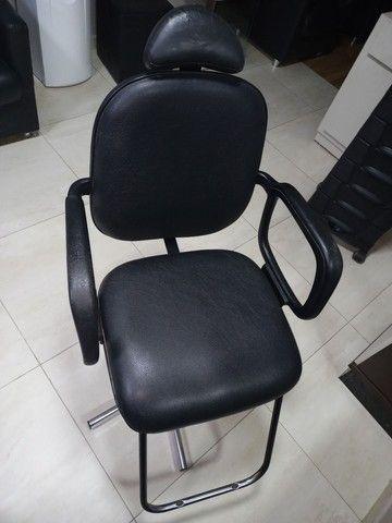 Cadeira de cabeleireiro  - Foto 6