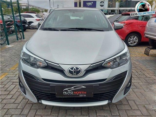Toyota Yaris 2019 1.5 16v flex sedan xls multidrive - Foto 3