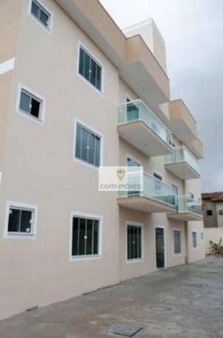 Apartamentos a 50m da Rodovia, quintal/terraço, Jardim Mariléa, Rio das Ostras.