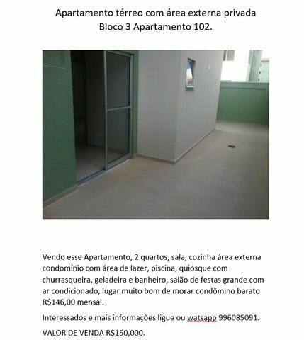 Vendo Apartamento Total ville 2 térreo
