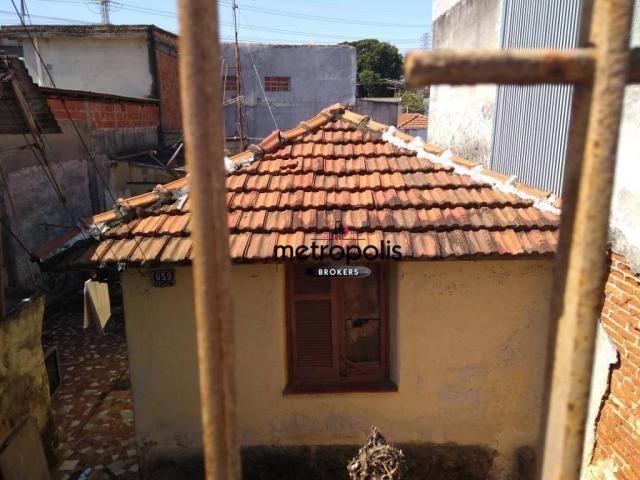 Terreno à venda, 210 m² por r$ 340.000,00 - nova gerti - são caetano do sul/sp - Foto 5