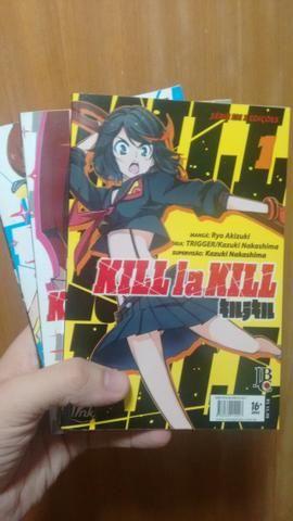 Mangá Kill la Kill Edições 1 à 3 (Completo)