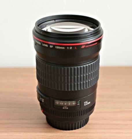 Lente Canon 135mm F2 L - Excelente Estado