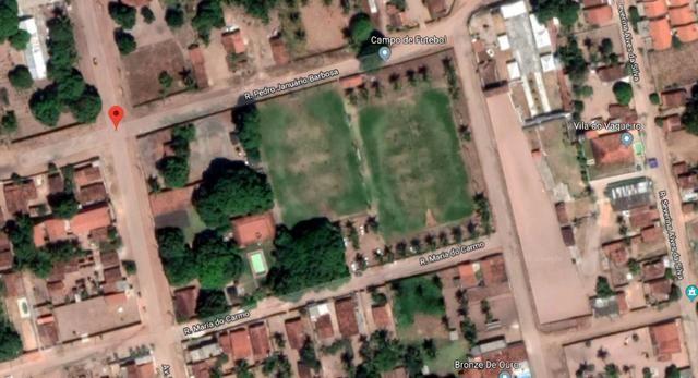 Terreno de 12.592m2 prox BR-406, RN, com casa, piscina e campos de futebol