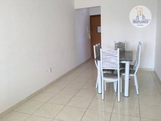 Apartamento com 2 dormitórios à venda, 76 m² por r$ 270.000 - campo da aviação - praia gra - Foto 3