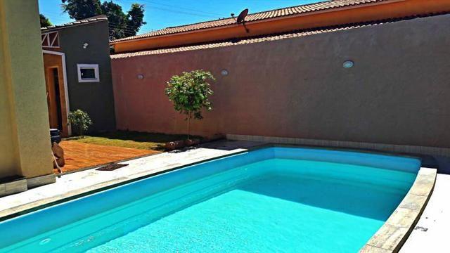 Oportunidade! Taguaparque! 03 quartos, piscina aquecida, churrasqueira, fogão à lenha - Foto 5