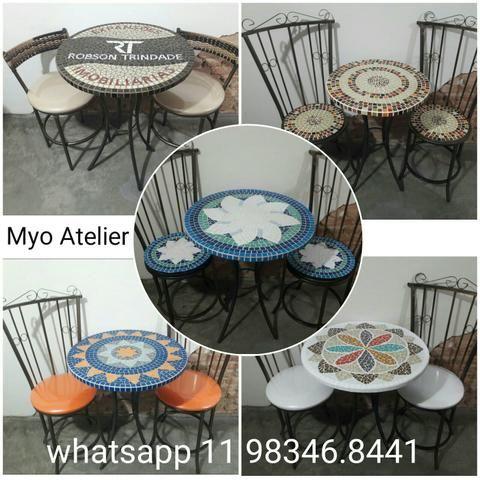 Moveis, mesa, varanda, sacada, cadeira, banqueta - Foto 4