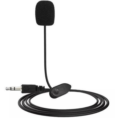 COD-AP63 Mini Microfone De Lapela P/ Palestras 3,5mm Arduino Robotica - Foto 2