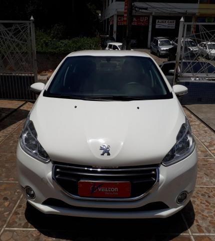 Peugeot 208 2015 1.5 Active Branco Unica Dona Emplacado - Foto 2
