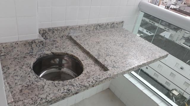 D-Oportunidade 1 Dormitório, centro da Ocian Praia Grande, Financiamento Bancário - Foto 16